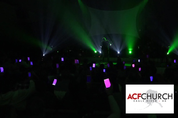 ACF Church Cell Phone Light Show
